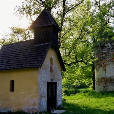 Zrúcanina kostola na Vrchhore